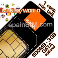 Orange Ardilla Spain SIM Card
