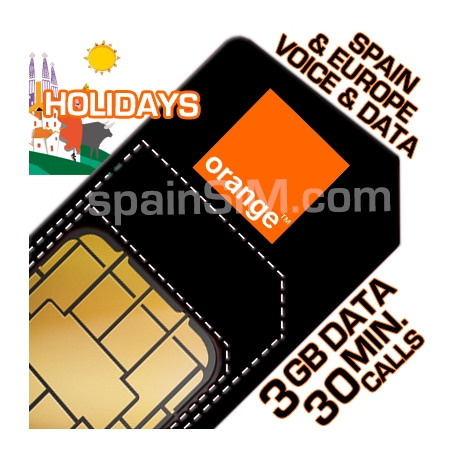 Orange BALLENA Spain SIM Card