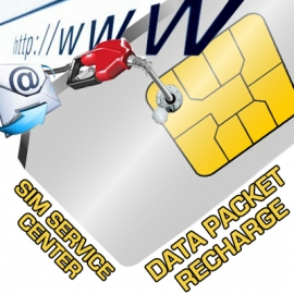 SIM DATA PACKET or DATA & CALLING PLAN RECHARGE
