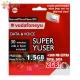 Vodafone SUPER YUSER Spain SIM Card