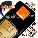 Orange BALLENA Spain SIM Card