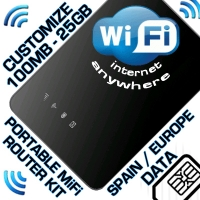 UNLOCKED PORTABLE WIFI KIT - ALCATEL AIRBOX2