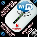 LOCKED PORTABLE WIFI KIT - HUAWEI VODAFONE R205