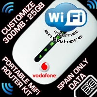 LOCKED PORTABLE WIFI KIT - VODAFONE R205